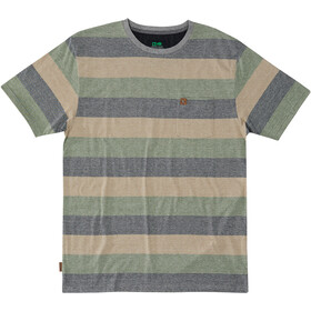 Hippy Tree Elmore Camiseta Hombre, heather grey